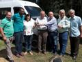 Amparo Familiar de Alto Santa Maria recebe veículo para transportar seus associados