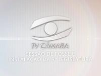Sessão de Posse do Prefeito, Vice-Prefeito, vereadores e vereadoras